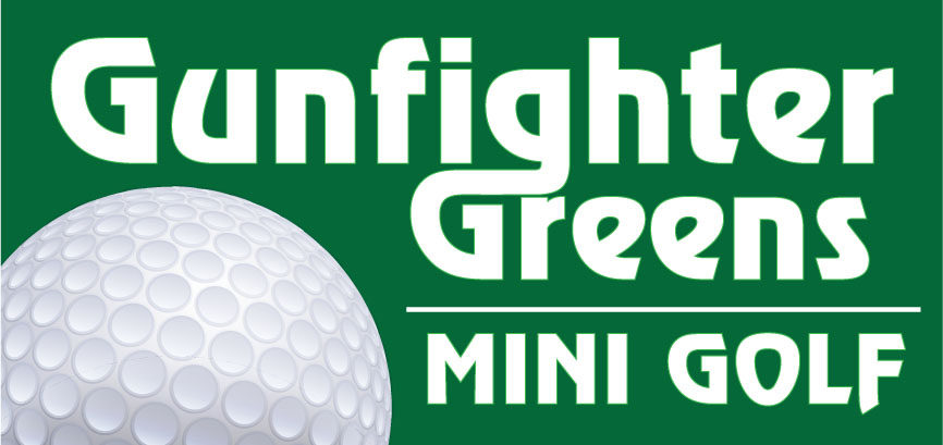 Gunfighter Greens Mini Golf Logo