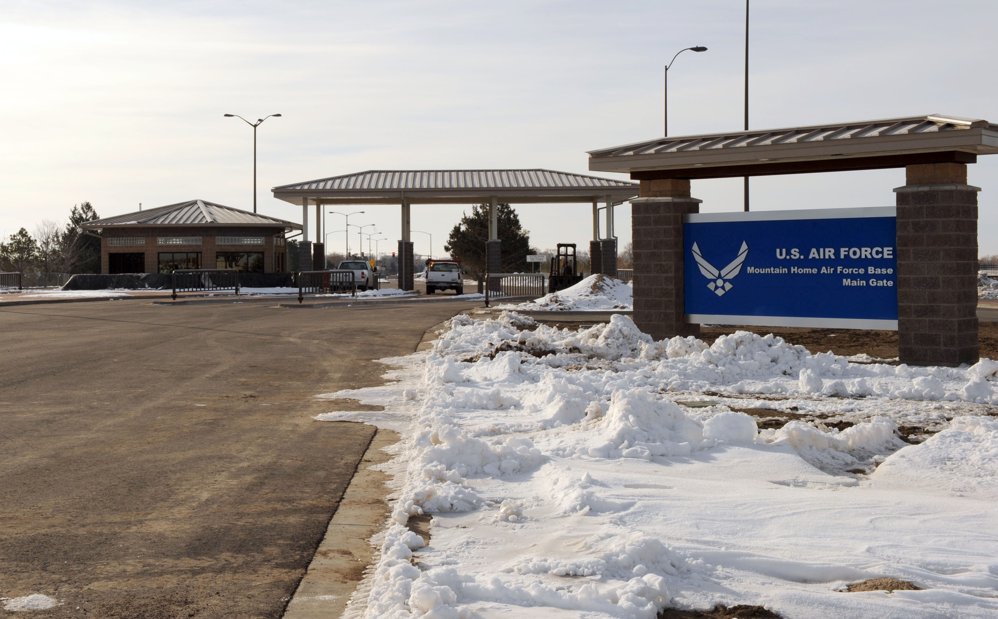 Mountain Home Air Force Base, Main Gate