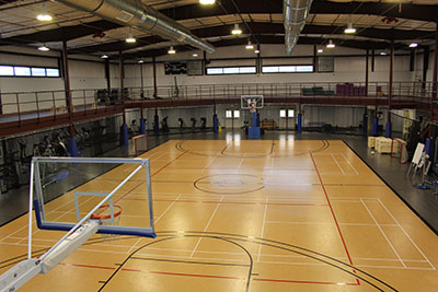 Fitness Center Annex Basketball Court Photo